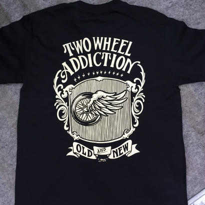 TWO WHEEL ADDICTION  T-Shirts