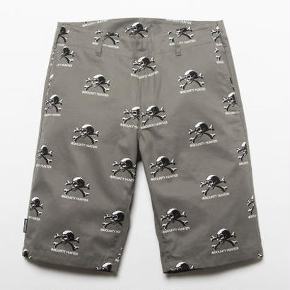 BxH Old Skull Half Pants
