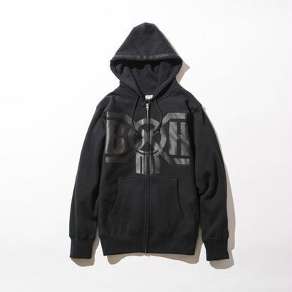 BxH Black x Black Logo Zip-up Pk