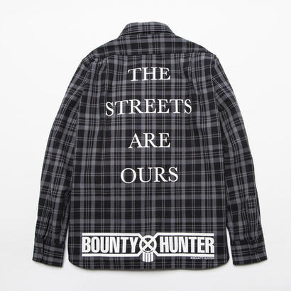 BxH Warriors Print Flannel Shirts