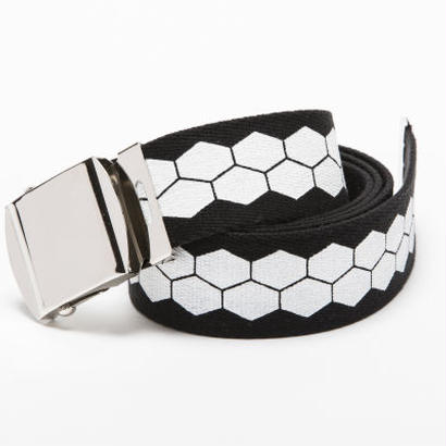 BxH Print Hexagon Belt