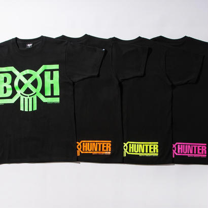 BxH 蛍光プリント Logo Tee