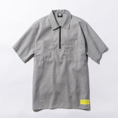 BxH Half Zip Work S/S Shirts