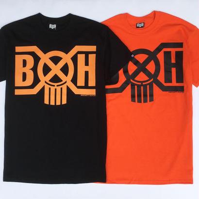 BxH Halloween Logo Tee BLACK×ORANGE, ORANGE×BLACK