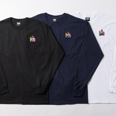 BxH Pogo Embroidery Pocket L/S Tee