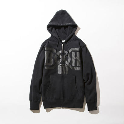 BxH Black x Black Logo Zip-up Pk