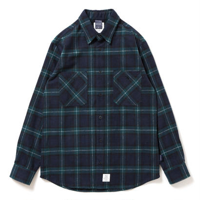 【APPLEBUM】Shaggy Tartan Check Shirt