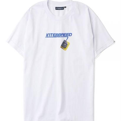 "【INTERBREED】RE-DESIGN SERIES ""90'S LOGO SS TEE""(WHITE)"