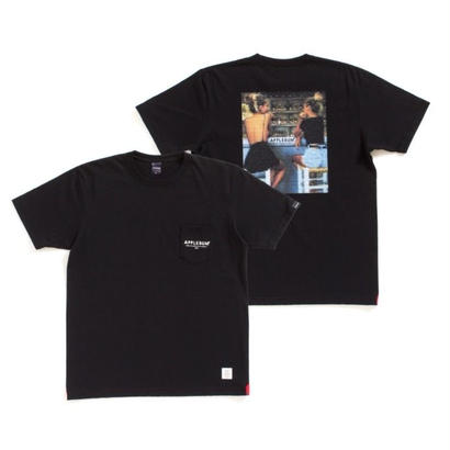 "【APPLEBUM】""Pool Side"" Pocket T-shirt [Black]"
