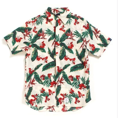 "【APPLEBUM】""Tony Montana"" Fly Front SS Shirt [Natural]"