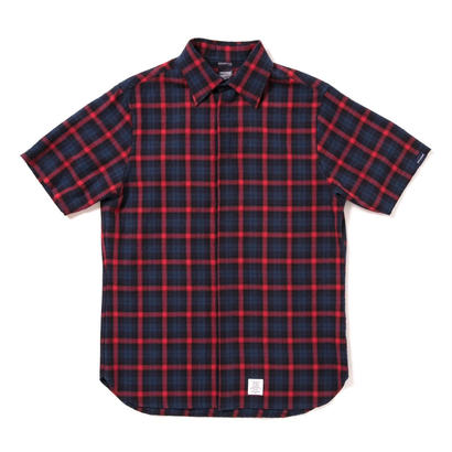 【APPLEBUM】Herringbone Fly Front SS Shirt