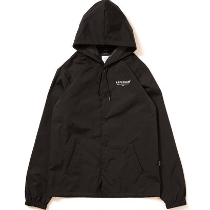 【APPLEBUM】Hood Coach Jacket [Black]