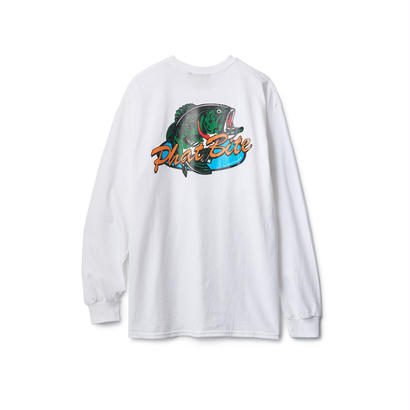 【INTERBREED】PHAT BITE LARGE MOUTH LOGO LS TEE