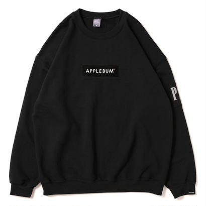 【APPLEBUM】PLAY for APPLEBUM Embroidary BOX LOGO Crew Sweat