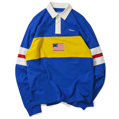 【Lafayette】COLORBLOCK RUGBY JERSEY