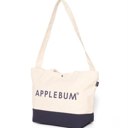 【APPLEBUM】Logo Canvas Shoulder Totebag