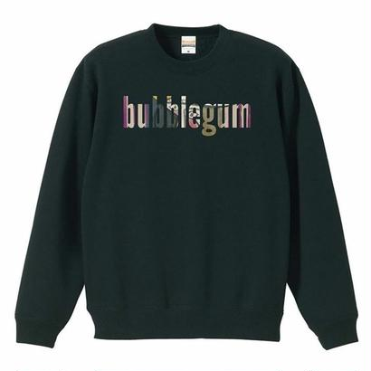 【bubblegum original】crew neck sweat
