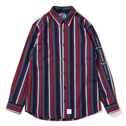 【APPLEBUM】Navy Stripe Shirt