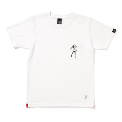 "【APPLEBUM】""Girl"" Pocket T-shirt [White]"
