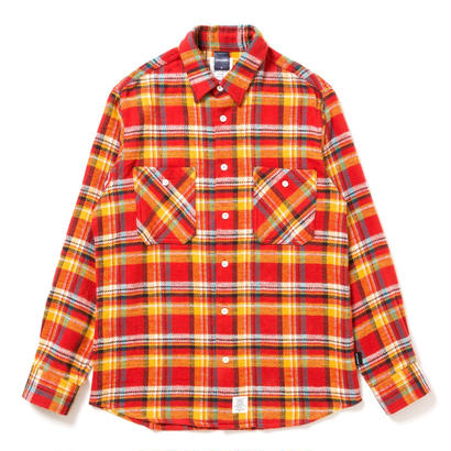 【APPLEBUM】Orange Check Nel Shirt