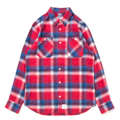 【APPLEBUM】Blue Red Check Nel Shirt