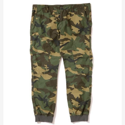【APPLEBUM】Woodland Camo Rib Pants