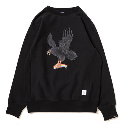 "【APPLEBUM】""Eagle"" Crew Sweat [Black]"