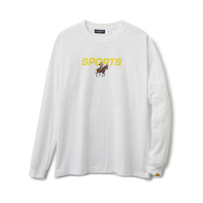 【INTERBREED】MINNIE SPORTS LS TEE