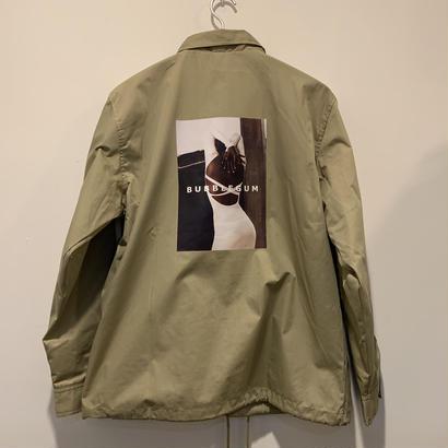 【bubblegum】T/C coach jacket