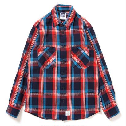 【APPLEBUM】Navy Check Nel Shirt