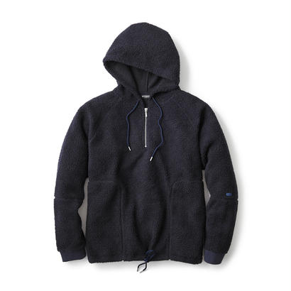 【INTERBREED】COUNTRY BOA FLEECE HOODIE