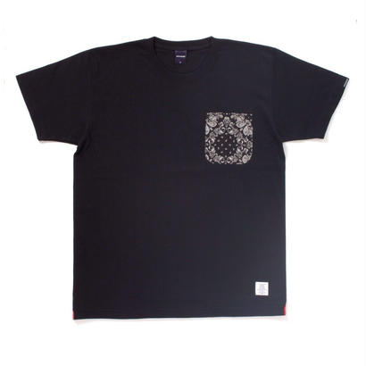 【APPLEBUM】Ya Basta Paisley Pocket T-shirt[Black]