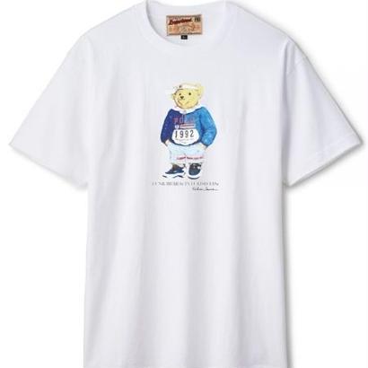 【INTERBREED】FUNK BEAR LO SS TEE(WHITE)