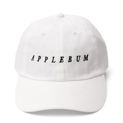 【APPLEBUM】Logo Cotton Cap [White]