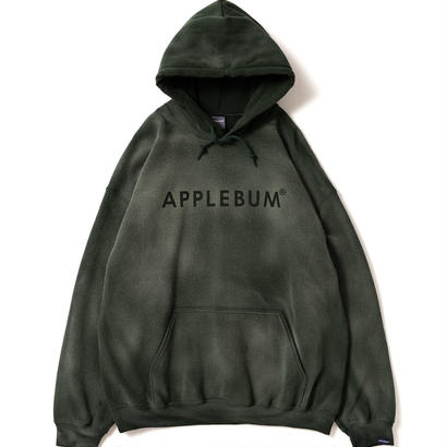 【APPLEBUM】Bleach Sweat Parka [Green]