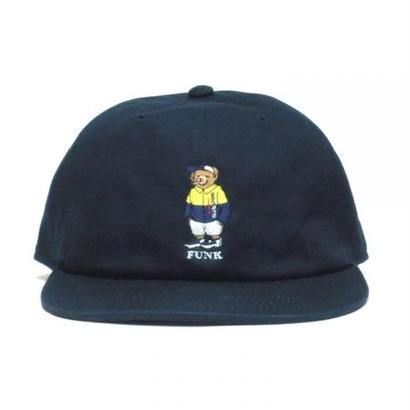 【INTERBREED】SPORTS BEAR EMBROIDERED BALL CAP(NAVY)