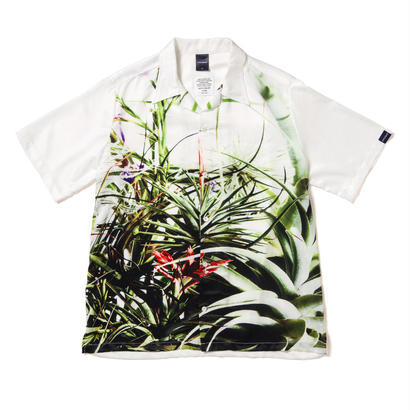 "【APPLEBUM】""Flower White"" Aloha Shirt"