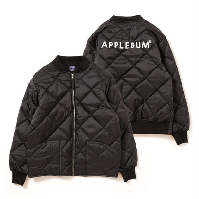 【 APPLEBUM】Quilting Flight Jacket