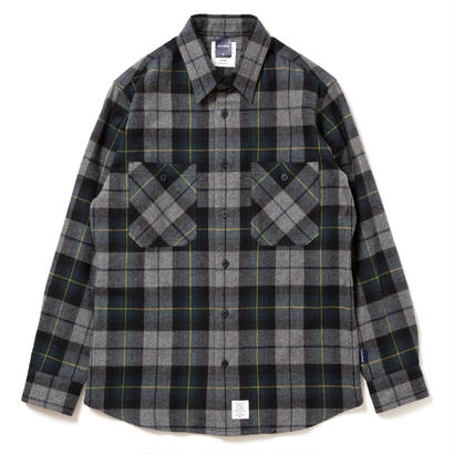 【APPLEBUM】Top Shaggy Check Nel Shirt