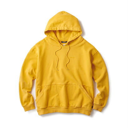 【INTERBREED】SOLID OVERDYED HOODIE