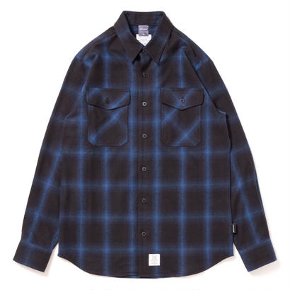 【APPLEBUM】Black Blue Check Nel Shirt