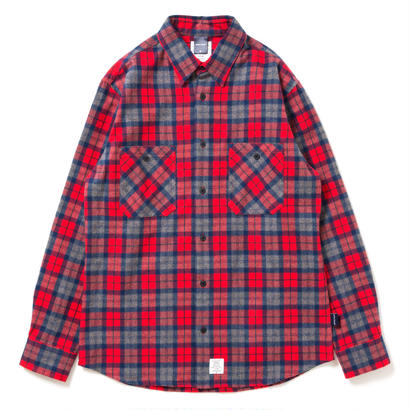 【APPLEBUM】Shaggy Check Nel Shirt