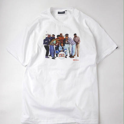 【INTERBREED】Janette Beckman × INTERBREED  NATIVE TONGUES SS TEE(WHITE)
