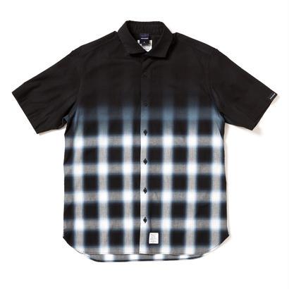 【APPLEBUM】Black Dye Ombre Check Shirt