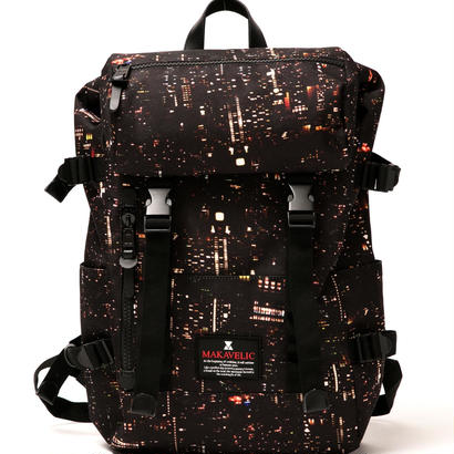 "【MAKAVELIC×APPLEBUM】 ""Babylon View"" Backpack"