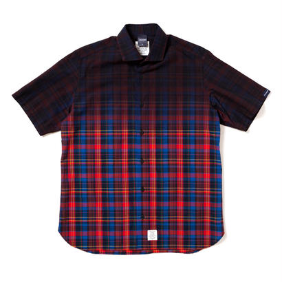 【APPLEBUM】Black Dye Madras Check Shirt