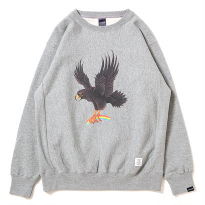 "【APPLEBUM】""Eagle"" Crew Sweat [H.Gray]"