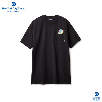 【INTERBREED】METRO CARD POCKET TEE