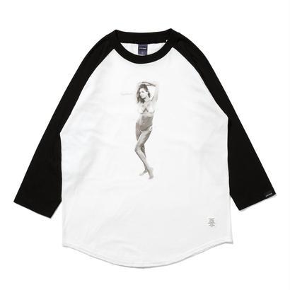 """【APPLEBUM】""""Nice Applebum"""" Raglan 3/4 Sleeve T-shirt"""