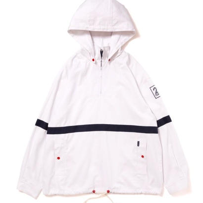 【APPLEBUM】Cotton Anorak Parka [White]
